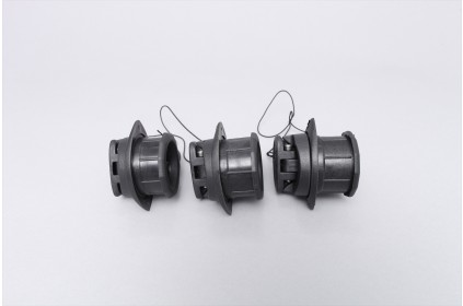 Valve for water draining for transom 21mm - 24mm - 27mm thick
