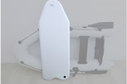 High Pressure air deck for inflatable boats
