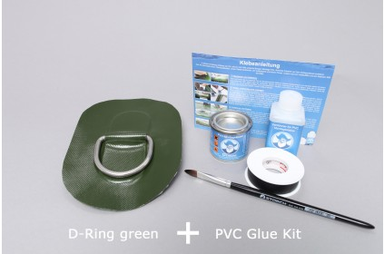 D-Ring for PVC inflatable boat and specific set-up set