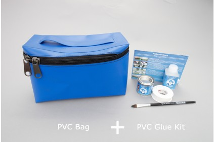 removable PVC Bag with Velcro