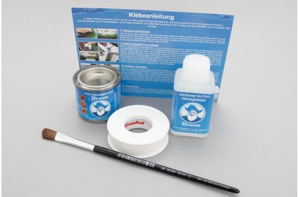 PVC Assembly kit to glue items on inflatable boats