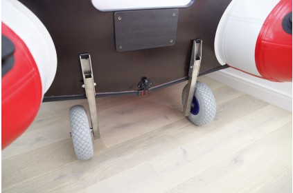 Launching Transom Wheels for inflatable rib boat