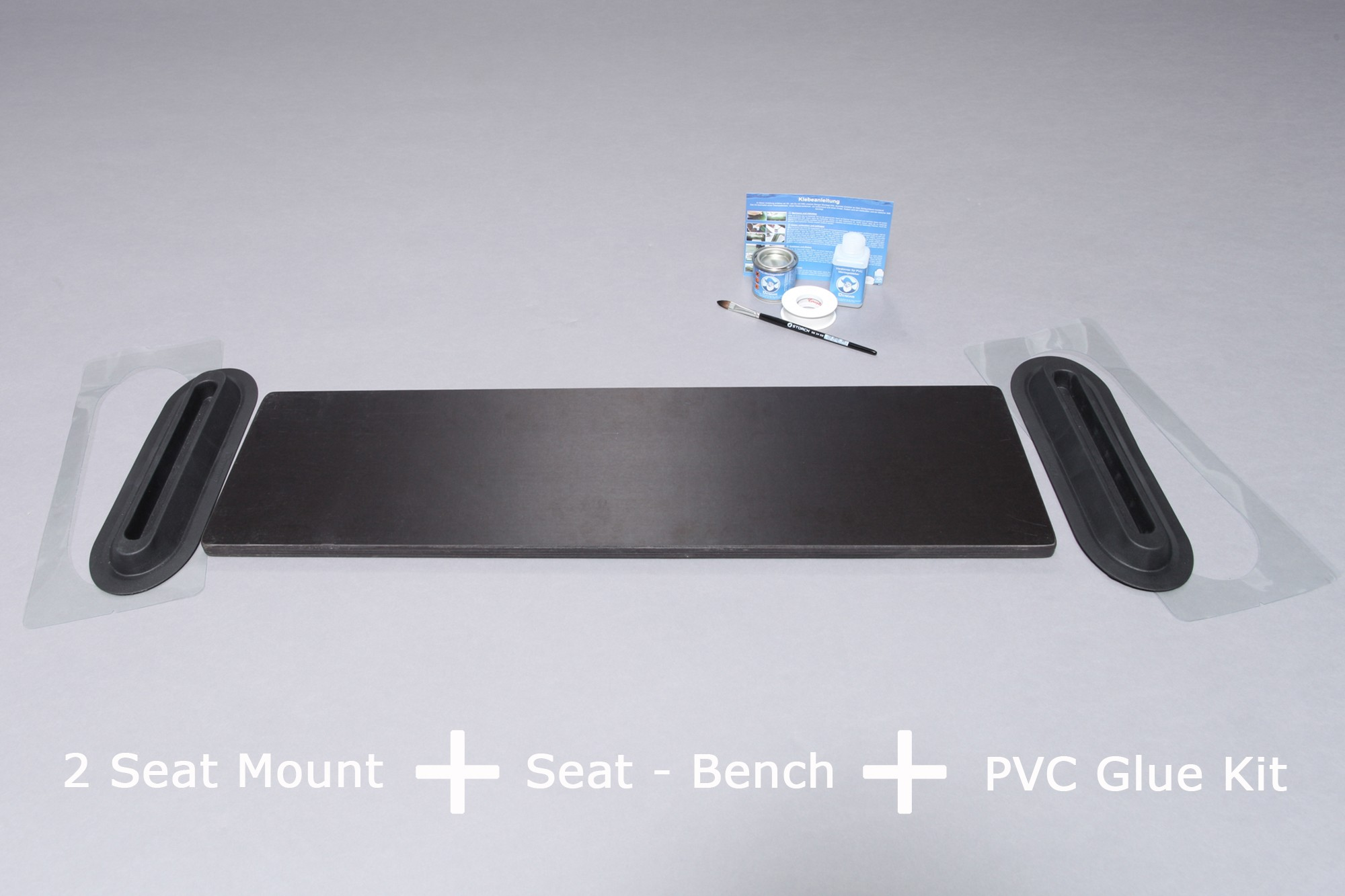 Bench 69x20 cm in marine plywood for inflatable boat Bengar