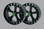 Railblaza 2x Sandtrakz Wheels, Gummi wheels for sand, beach, mud 50-0005-71