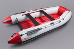 N-360 (white/red) Inflatable Boat with air bottom